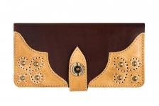 купить Кошелек Retro Brown-Ivory цена, отзывы