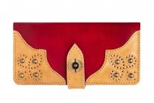 купить Кошелек Retro Red-Ivory цена, отзывы