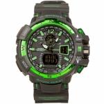 купить Часы Сasio G-Shock Black Green реплика цена, отзывы