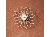 купить Деревянные часы Цветок солнца цена, отзывы