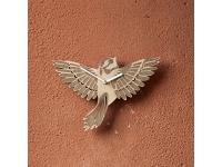 купить Деревянные часы Птица счастья цена, отзывы