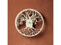 купить Деревянные часы Древо жизни цена, отзывы