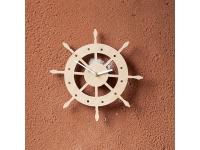 купить Деревянные часы Рулевое колесо цена, отзывы