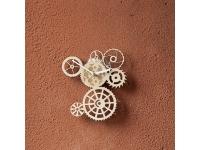 купить Деревянные часы Вечный механизм цена, отзывы