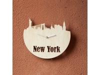 купить Деревянные часы Мгновенья Нью-Йорка цена, отзывы