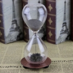 купить Декоративные стеклянные часы Dance the hourglass цена, отзывы