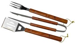 купить Набор для гриля с деревянной ручкой 3 предмета цена, отзывы