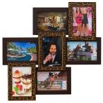 купить Деревянная мультирамка Тоскана Золотой Шоколад цена, отзывы