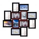 купить Деревянная мультирамка Палермо медное мерцание на 12 фото цена, отзывы