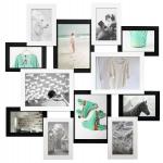купить Деревянная мультирамка Путишественник белое и черное на 12 фото цена, отзывы