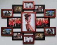 купить Деревянная мультирамка Симметрия медное мерцание на 13 фото цена, отзывы