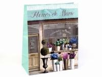 купить Подарочный пакет Цветочный магазин 26 см цена, отзывы