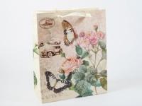 купить Подарочный пакет Букет цветов 32 см цена, отзывы