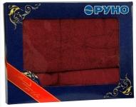 купить Набор махровых полотенец бодового цвета цена, отзывы