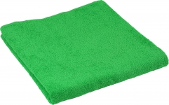 купить Набор махровых полотенец зеленого цвета цена, отзывы