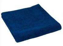 купить Махровое полотенце синие 70х140 см цена, отзывы