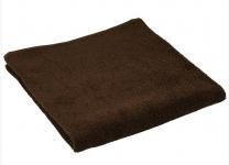 купить Махровое полотенце коричневое 70х140 см цена, отзывы