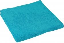 купить Махровое полотенце голубое 70х140 см цена, отзывы
