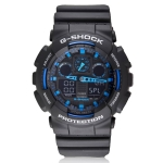 купить Часы Сasio G-Shock Black Blue 2 реплика цена, отзывы