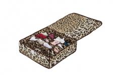купить Органайзер для белья с крышкой 24 отделения Гепардовый цена, отзывы