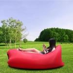 купить Надувное кресло-лежак красное цена, отзывы