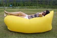 купить Надувное кресло-лежак желтое цена, отзывы