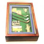 купить Ключница клюшки для гольфа цена, отзывы