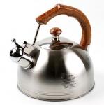 купить Чайник со свистком Wellberg 2,3л цена, отзывы