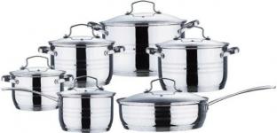 купить Набор посуды Wellberg с сковородой и ковшом  цена, отзывы