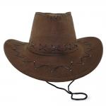 купить Шляпа Ковбоя Детская (коричневая) цена, отзывы