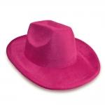 купить Шляпа Ковбоя велюровая (розовая) цена, отзывы
