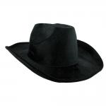 купить Шляпа Ковбоя велюровая (черная) цена, отзывы