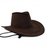 купить Шляпа Ковбоя замша (коричневая) цена, отзывы