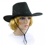 купить Шляпа Ковбоя замша (черная) цена, отзывы