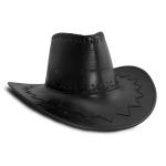 купить Шляпа Ковбоя кожа (черная) цена, отзывы