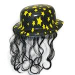 купить Шляпа Котелок Пластик с волосами цена, отзывы