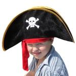 купить Шляпа Пирата с повязкой детская цена, отзывы