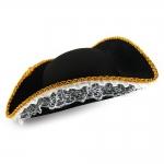 купить Шляпа Пиратки с кружевом цена, отзывы