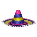 купить Шляпа Сомбреро 50 см цветная цена, отзывы