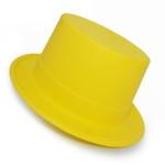 купить Шляпа Цилиндр Пластик Флок с лентой цена, отзывы