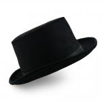 купить Шляпа Цилиндр велюровый (черный) цена, отзывы