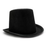 купить Шляпа Цилиндр из фетра (черный) цена, отзывы