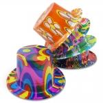 купить Шляпа Цилиндр пластик с принтом цена, отзывы