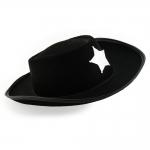 купить Шляпа Шерифа детская (черная) цена, отзывы