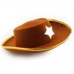 купить Шляпа Шерифа детская коричневая цена, отзывы