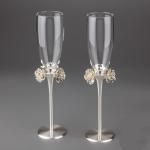 купить Свадебные бокалы weddings bouquet цена, отзывы