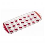 купить Форма для льда с гибким дном (21 отверстие) красная цена, отзывы