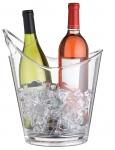 купить Ведерко для напитков акриловое прозрачное  цена, отзывы