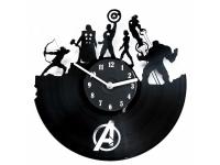 купить Виниловые часы Superheroes цена, отзывы
