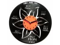 купить Виниловые часы Наилучшей маме в свете цена, отзывы